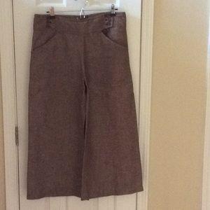 Max Studio gaucho skirt